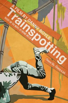"""Trainspotting - Danny Boyle 1996 - DVD05738 -- """"A group of disaffected Scottish youths turn to heroin to escape the banalities of modern-day existence."""""""