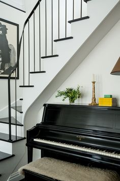 The new staircase adds formality and a sense of permanence.