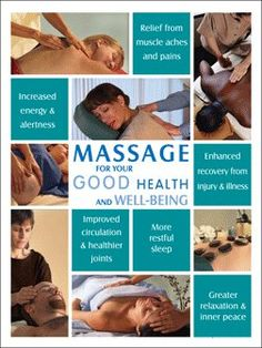 Just some more reasons to get a massage!