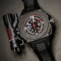 The First Snyper One Black PVD Coated and Laser Beam Module.