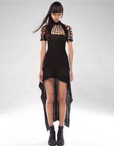 DRESS SATORI GRID | DRESS | DEMOWOMAN | DEMOBAZA Store