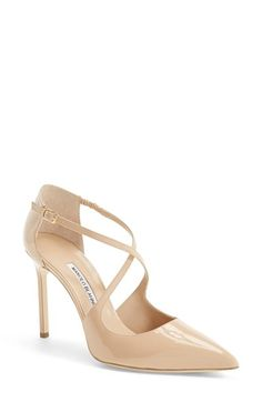 Manolo Blahnik 'Umice' Pointy Toe Pump (Women) available at #Nordstrom