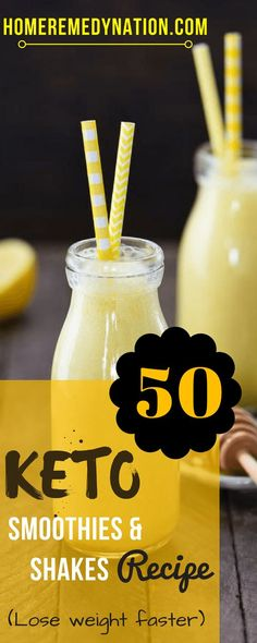 50 Phenomenal Keto Smoothie And Shake Recipes To Lose Weight Faster | Home Remedy Nation