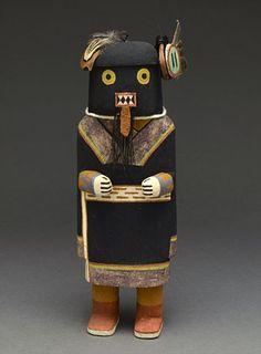 Warrior Maiden Kachina Doll by Valjean Lalo (Hopi)❄❄