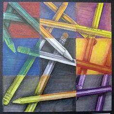 idea for exploring colour theory