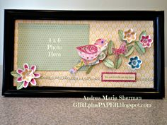 GIRLplusPAPER: Chantilly Springtime Collage Frame Kit