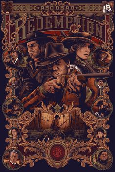 9 color x 36 inchessigned and numbered, limited edition of 125 inspired by Red Dead Redemption 2 King's Quest, Red Dead Redemption Game, Photos Vintage, Read Dead, Gaming Posters, Rdr 2, Gaming Wallpapers, Le Far West, Video Game Art