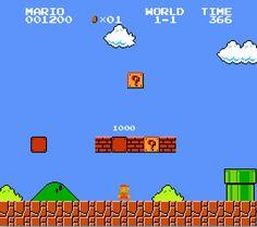 #SuperMario Brothers, #NES #Nintendo