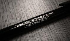 A reet canny Library pen