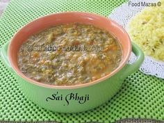 Sindhi Food Mazaa: SAI BHAJI ( Spinach cooked with lentils and vegetables )