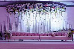 24 Gorgeous Wedding Stage Decoration Ideas & Themes That Will Leave You Speechless! 24 Gorgeous Wedding Stage Decoration Ideas & Themes That Will Leave You Speechless!This Wedding Season Let's Create Magic With Dazzling Wedding Backdrop Design, Wedding Stage Design, Wedding Reception Backdrop, Marriage Decoration, Wedding Decorations On A Budget, Engagement Decorations, Wedding Ceremony, Wedding Ideas, Wedding Themes
