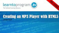 Creating an MP3 Player with HTML5