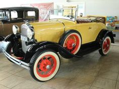 1930 Ford Deluxe Convertible