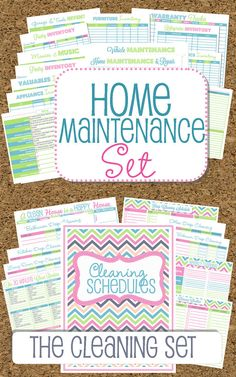 EDITABLE and INSTANT DOWNLOAD Home Binder by HappyOrganizedLife, $45.00 @Natalie Young