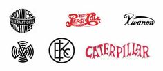5 key logo trends History and what you can learn from them - 1) The beginning of simplicity (1930s-1940s)