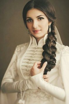 The Circassian Beauty an Adyghe Girl.