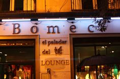Bomec Tea Lounge, Madrid  #madrid #travel #destination and great places to go