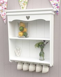 Shelving Unit with Carved Heart in White. Sylvester Oxford Ltd http://www.amazon.co.uk/dp/B0158Y780C/ref=cm_sw_r_pi_dp_.GE6wb14XPQ7V
