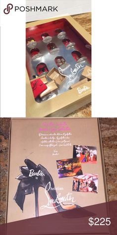 Christian Louboutin Barbie Collection Shoes In box and going on EBay for $399.99. Christian Louboutin Other