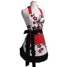 Amazon.com: Flirty Aprons Women's Original Apron, Cherry Blossom: Home & Kitchen