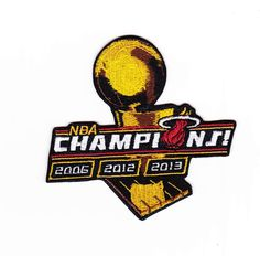 7b1081181326  lt  2013 2012 2006 3-Time NBA Finals Champions Championship Miami Heat  Patch Miami