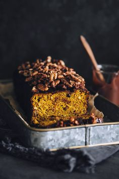 Gluten-Free Pumpkin Bread Recipe (Vegan)