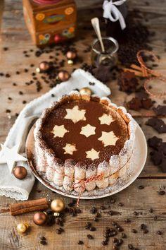 Tirmaisu Cheesecake Charlotte - Kaffee Kuchen mit Löffelbiskuit und Kaffeelikör (10)