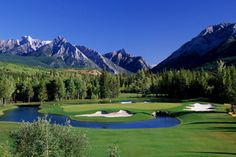 Kananaskis Country Golf Club - (Mt Kidd and Mt Lorette) these are great courses, I hope they can be rebuilt, it would be a shame if they are not.
