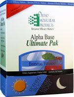 Alpha Base Ultimate Pak | Concord Weight Loss Clinic and Allergy Center  Price: $124.80  Taking care of your health has never been so easy! Alpha Base Ultimate Pak combines our efficacious vitamin and mineral formulas with OrthOmega fish oil, Natural Vitamin E Mixed Tocopherols and broad spectrum antioxidants to provide patients with the ultimate daily supplement in a convenient, easy-to-take packet. 2 packets per day taking one AM packetin the morning and one PM packet in the evening or…