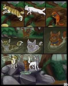 Warriors into the wild: Page - 19 by SassyHeart on DeviantArt