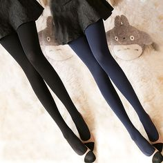 Winter Zwarte Panty 120D. Warm Kousen Panty Footie Winter Panty, Warm Kousen Stap Voet naadloze Hoge elasticiteit Hosier