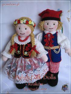 Ravelry: irishmagda's Polish Folk Dolls: Krakowianka