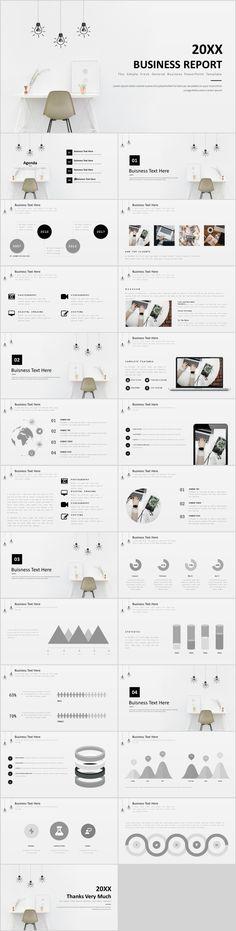 Business infographic : 24 Simple business PowerPoint Template on Behance Office Powerpoint Templates, Professional Powerpoint Templates, Keynote Template, Layout Template, Ppt Design, Slide Design, Logo Design, Design Art, Business Design
