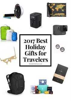 The Best Gifts for Travelers - 2017 Edition - Nomad'er the Distance