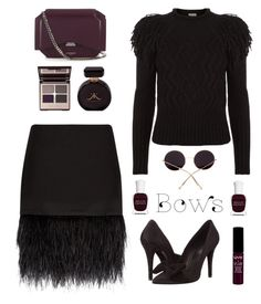 """""""#bows"""" by dianakhuzatyan ❤ liked on Polyvore featuring Givenchy, Polo Ralph Lauren, Temperley London, The Kooples, Deborah Lippmann, Charlotte Tilbury, NYX, bows, polyvoreeditorial and polyvorecontest"""