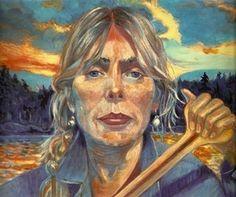 """Joni Mitchell, """" Gathered Light"""" Canada 2013"""