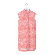 Slim-Sleeve Dress in Painted Check by Kate Spade Saturday