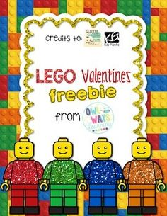 "LEGO theme Valentines!  4 different cards and sayings include: ""Valentine, you're a friend I won't LEGO of!"" ""Best friend on the BLOCK!"" ""Let's BUILD something together, Valentine!"" ""I was BUILT to be your Valentine!""  Feedback is greatly appreciated!!"