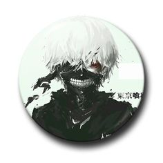 TOKYO GHOUL Pins Buttons (Choose from 15 Designs!)