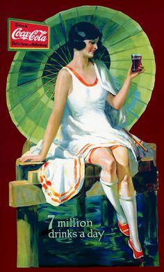 Illustration vintage Coca-Cola                                                                                                                                                                                 More
