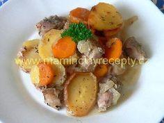 Irský hrnec – Maminčiny recepty Potato Salad, Food And Drink, Potatoes, Beef, Ethnic Recipes, Polish, Diet, Meat, Enamel