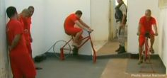 Springwise: In Brazil, prisoners' pedal power shaves time off their sentence