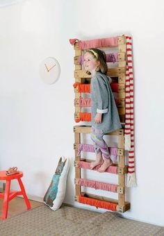 decoracion pallets 8 ideas con pallets para cuartos infantiles