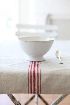 french antique cafe au lait bowls...love<3
