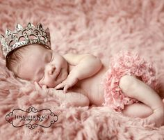 The little princess. Don't know if I'd do a pink blanket AND pink tutu, maybe a white or lavender blanket.