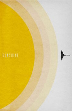 Sunshine (2007) - poster design by Travis English