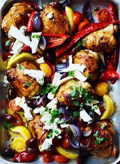 Low FODMAP and Gluten Free Recipe - Baked chili chicken http://www.ibssano.com/low_fodmap_chicken_baked_chili_chicken.html