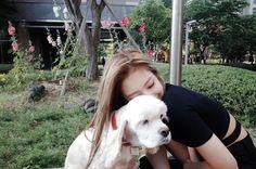 Jennie love dogs