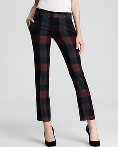 aw pretty plaid pants for fall