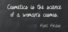 #cosmetics #makeup #quotes